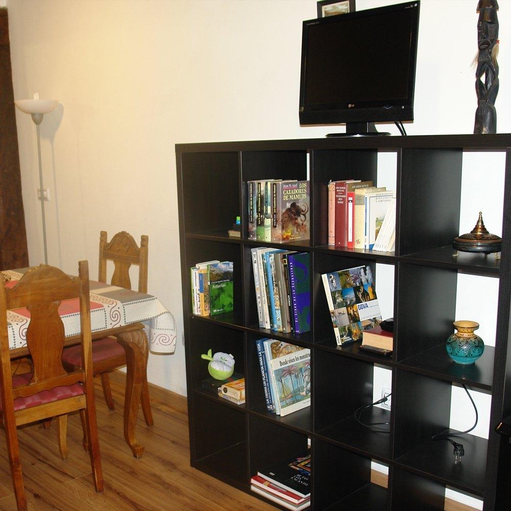detalle zona de tv apartamento